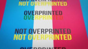 Overprint Example