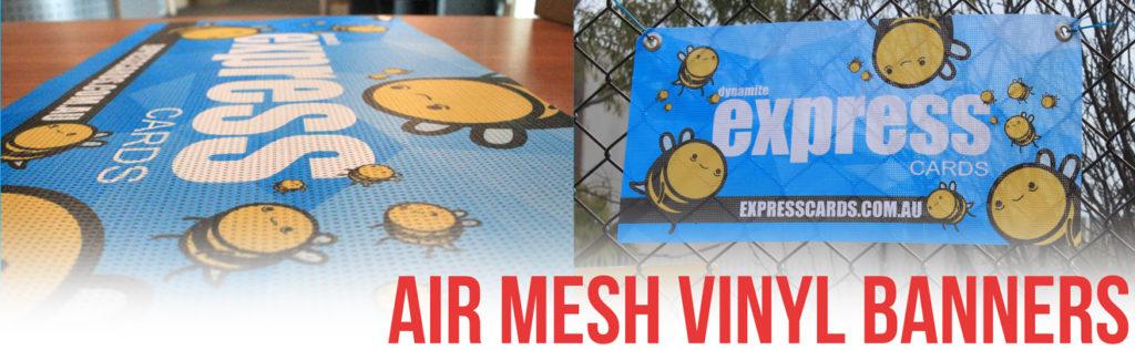 Airmesh Vinyl Banners