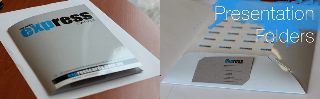 Presentation Folder printing at Express Cards